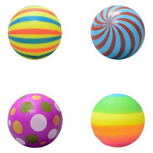 3 inch Assorted Vinyl Balls Mix