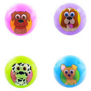 5-Inch Inflatable Balls with PuppyPalz characters