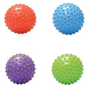 5 Inch Painted Tip Knobby Balls
