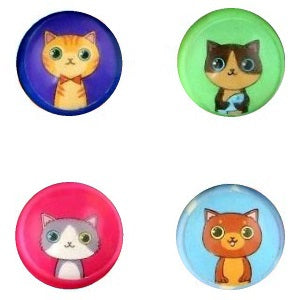 27 mm Fun Time Cat Mix Superballs