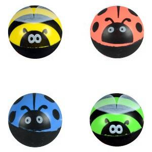 45 mm Ladybug & Bumble Bee Superballs