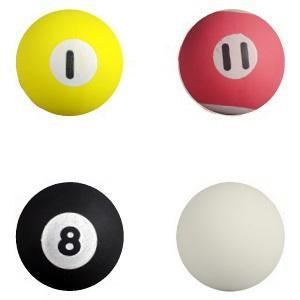 45 mm Pool Ball Superballs