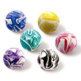 27 mm Two Color Marble Bouncy Balls