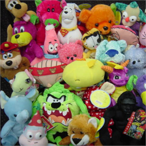 Medium Plush Toys - 50% Licensed