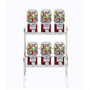 6 Unit Machine Vending Rack