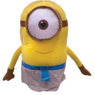Giant size plush toy based on the Minion Egyptian character