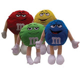 Giant sized M&M characters soft plush toys