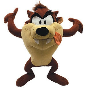 Giant plush toy based on Taz from the Looney Tunes cartoon series