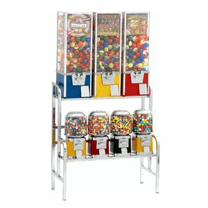 7 Unit Machine Vending Rack