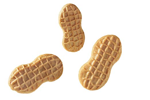 Nutter Butter Peanut Butter sandwich cookies product detail, closeup