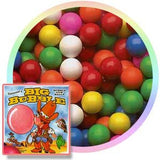 1 inch assorted flavor and color gumballs