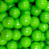 Detail image of 1 inch Green Apple gumballs by Zed
