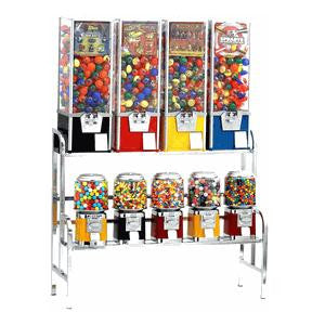 9 Unit Machine Vending Rack