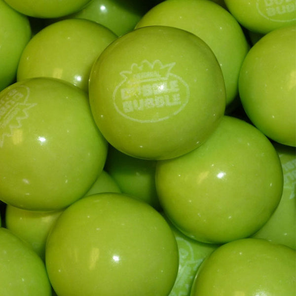 Dubble Bubble green apple gumballs product detail