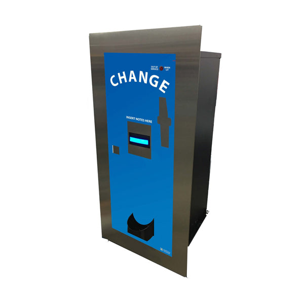 AC105 Rear Load Bill-to-Coin Change Machine Product Image Front View