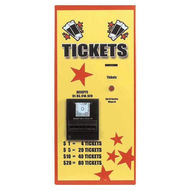 AC115 Ticket Dispenser - Rear Load