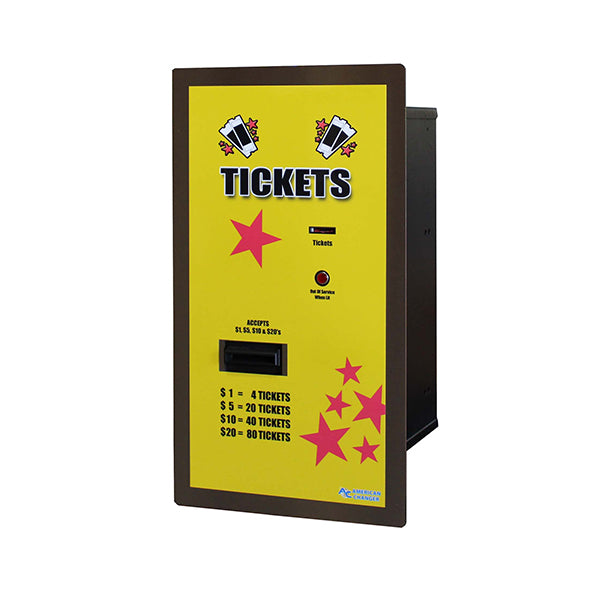 AC125 Rear Load Ticket Dispenser Left View Product Image