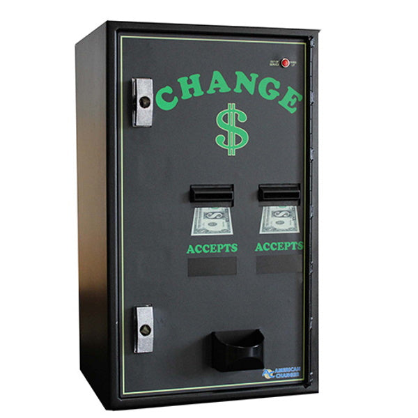 AC2002 Dual Bill-to-Coin Changer Right View Product Image