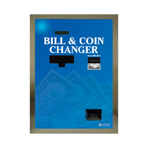 AC7805 High Capacity Rear Load Bill-to-Bill & Coin Changer Front View Product Image