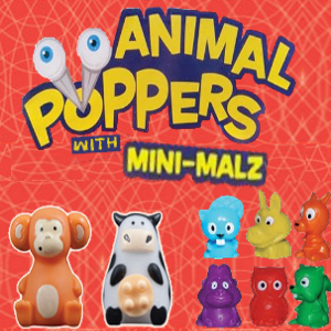 Animal Poppers with Mini Malz