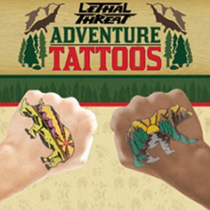 Lethal Threat Adventure Series Tattoos Product Image