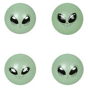 5 Inch Glow in the Dark Alien Balls Product Image