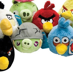 Angry Birds Small Plush Mix - 144 ct