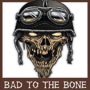 Bad to the Bone Tattoos