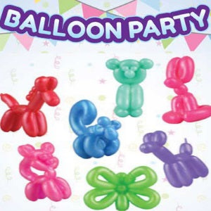 "Balloon Party Animals 1"" Capsules"