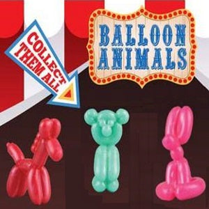 "Balloon Party Animals 2"" Capsules"