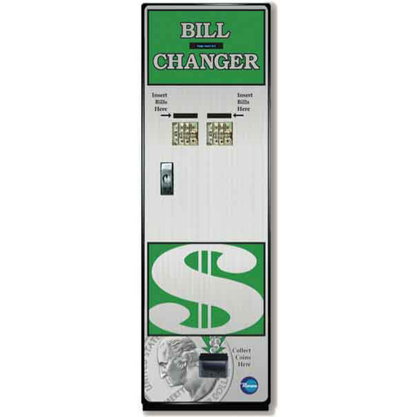 BC1500 Front Load Bill-to-Coin Changer Product Image
