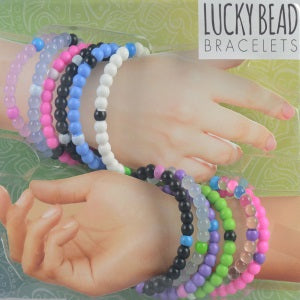 Lucky Bead Bracelets two inch toy capsule