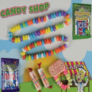 Candy Jewelry in 2 inch capsules