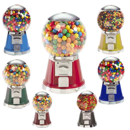 Color option for Titan Classic gumball & candy machine