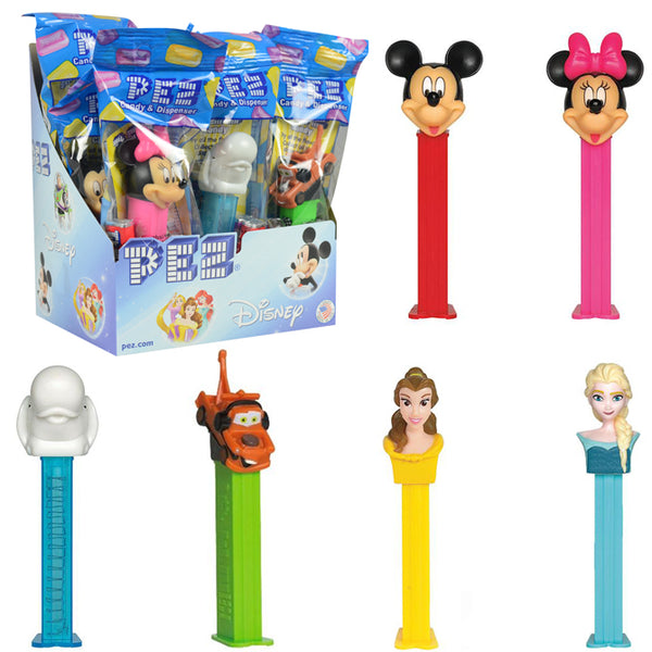 Disney & Disney Pixar PEZ Dispensers 144 ct