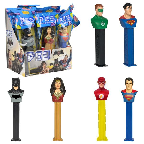 DC Comics Justice League Superhero Batman Superman Pez Dispensers