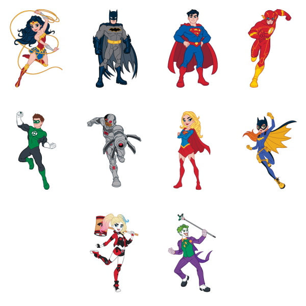 DC Comics Character Tattoos Product Detail
