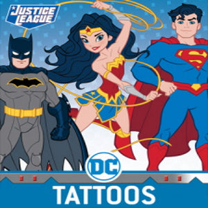 DC Comics Character Tattoos Product Image