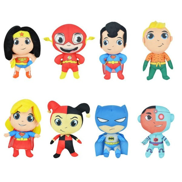 DC Comics Super Friends Jumbo Plush Mix 48 count Product Image  Batman Superman Wonder Woman
