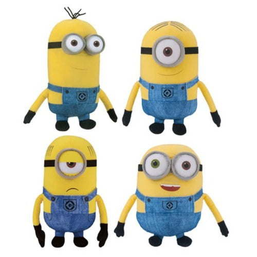 Despicable Me Minions Small Plush Mix Bob Stuart Kevin Gru Product Image
