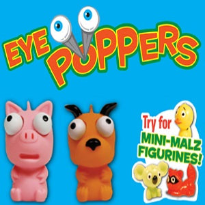 Eye Poppers with Mini-Malz 2 inch capsules