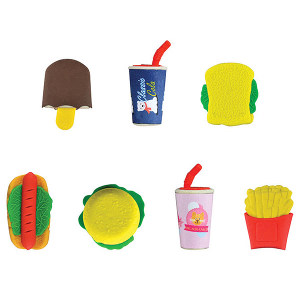 Fast food erasers product detail