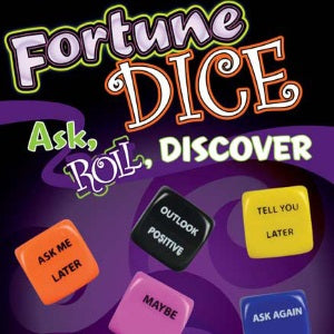 Fortune Dice 1 Inch Self-Vend Toys