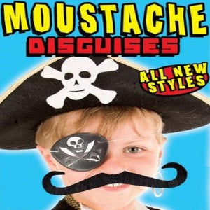Moustache Mix Display Front two inch vending capsules