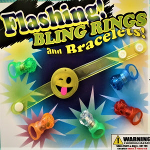"Flashing Bling Rings and Bracelets 2"" Capsules Product Image"
