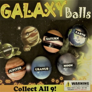"Galaxy Balls 2"" Self-Vending Toys Product Image"