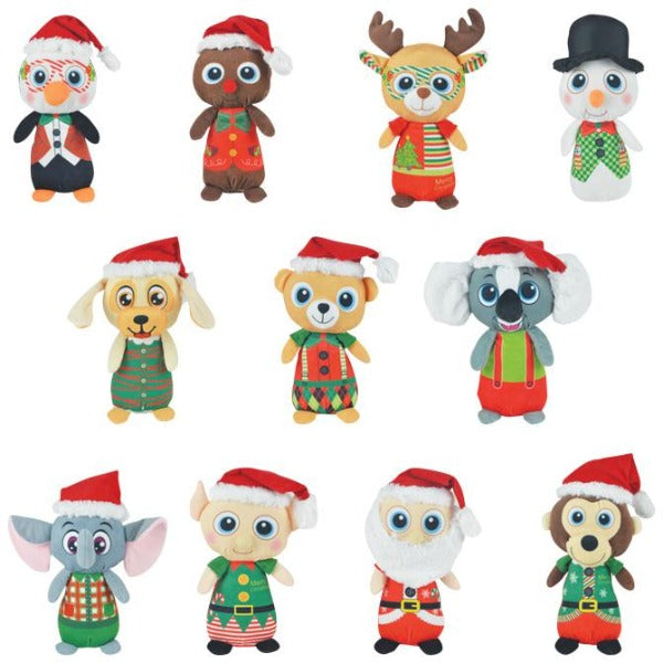 Jumbo Non-Licensed Christmas Plush Mix 48 ct Product Image