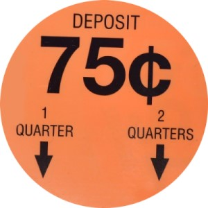 56 Old 10 Cent Gumball Vending Machine Price Stickers