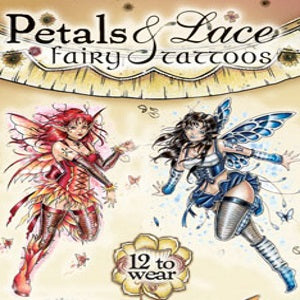 Petals & Lace Fairy Glitter Tattoos