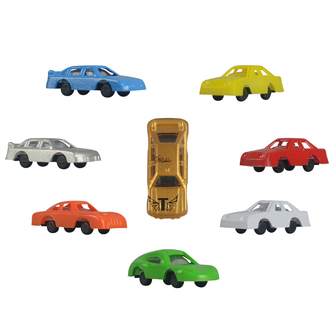Bulk Mini race cars 100 ct.